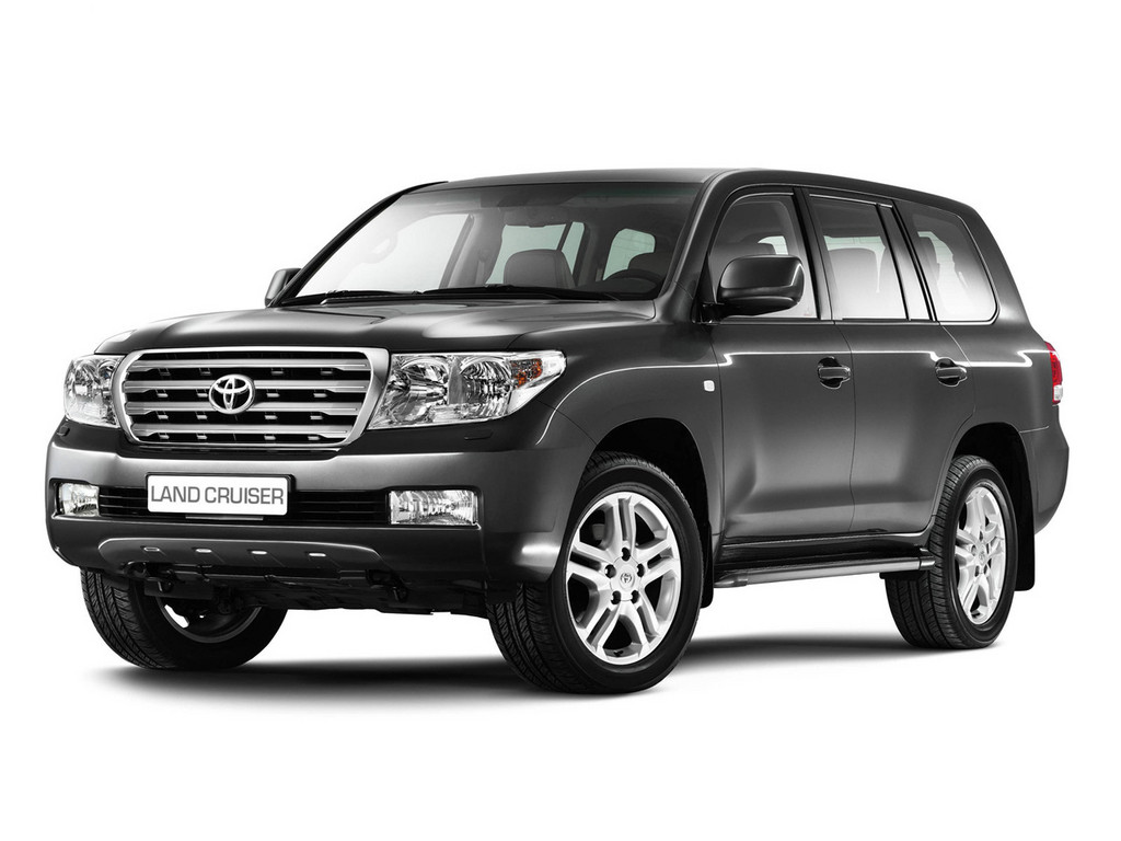 Black Toyota Land Cruiser