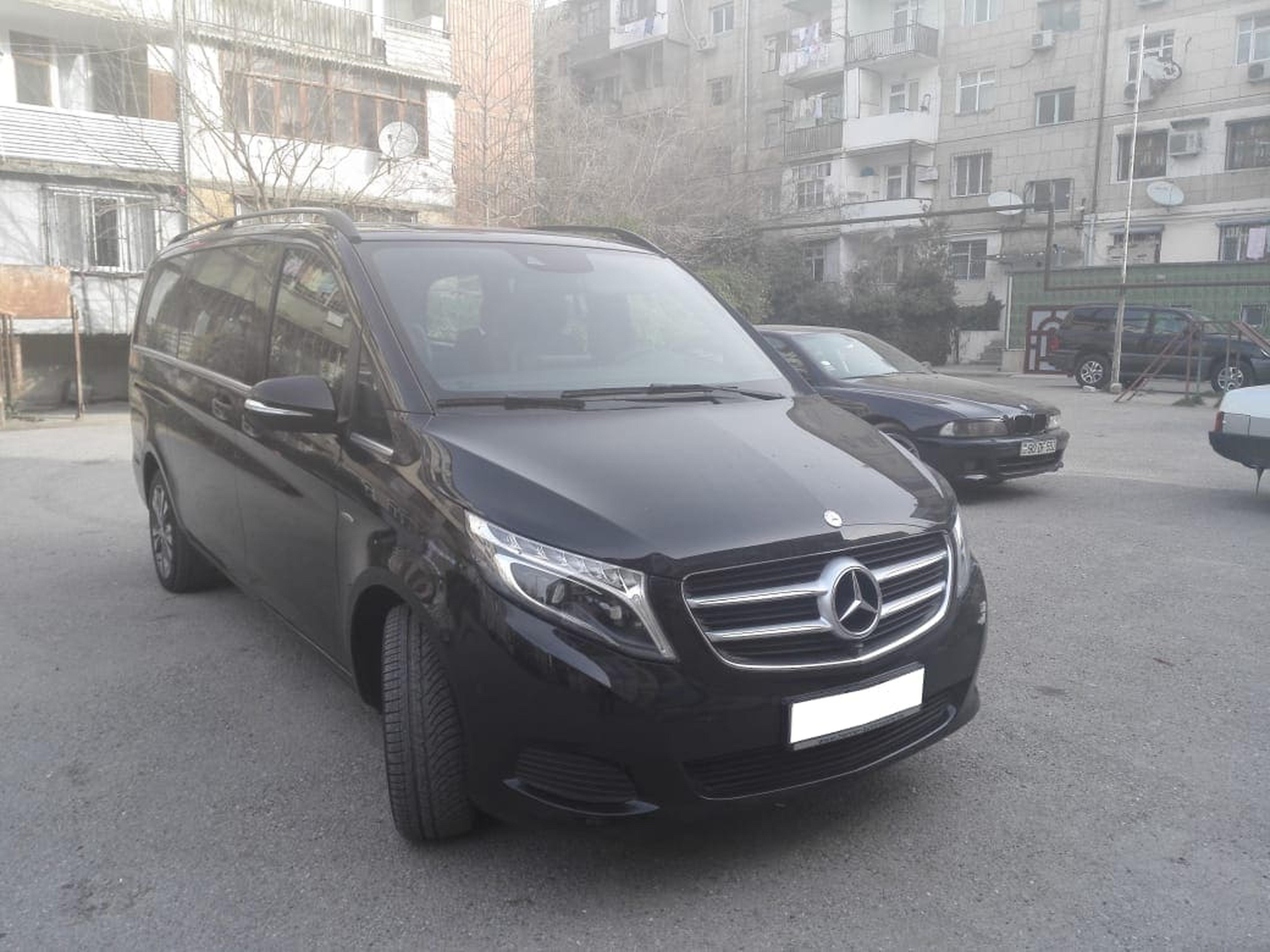 Minivan V-Class for rent